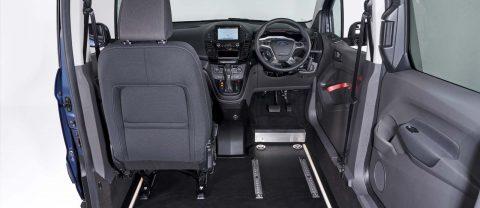 Ford WAV drive and upfront passenger