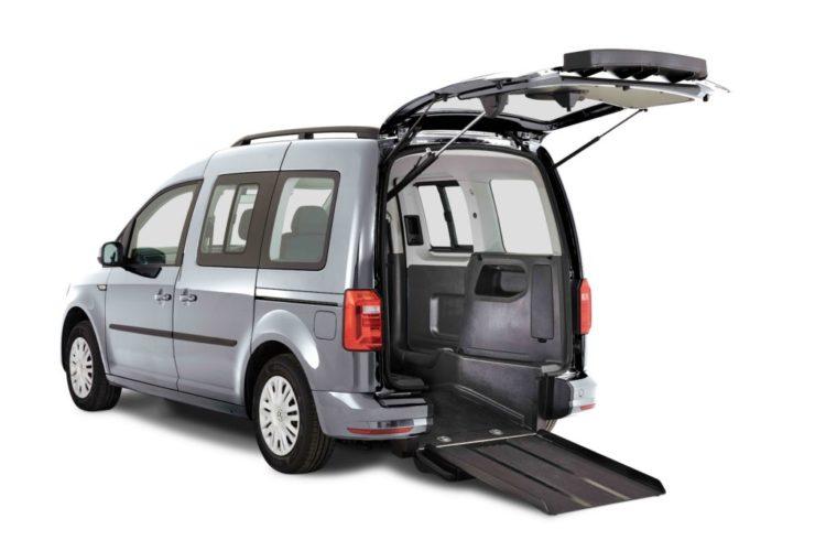 VW Caddy Upfront WAV